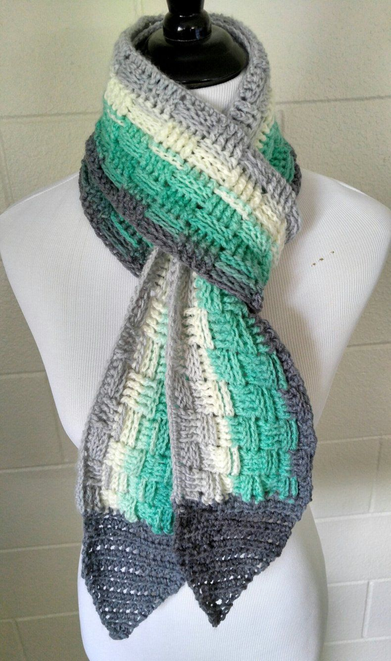 The Basket Weave Scarf - free crochet pattern at Bodhi Life ...