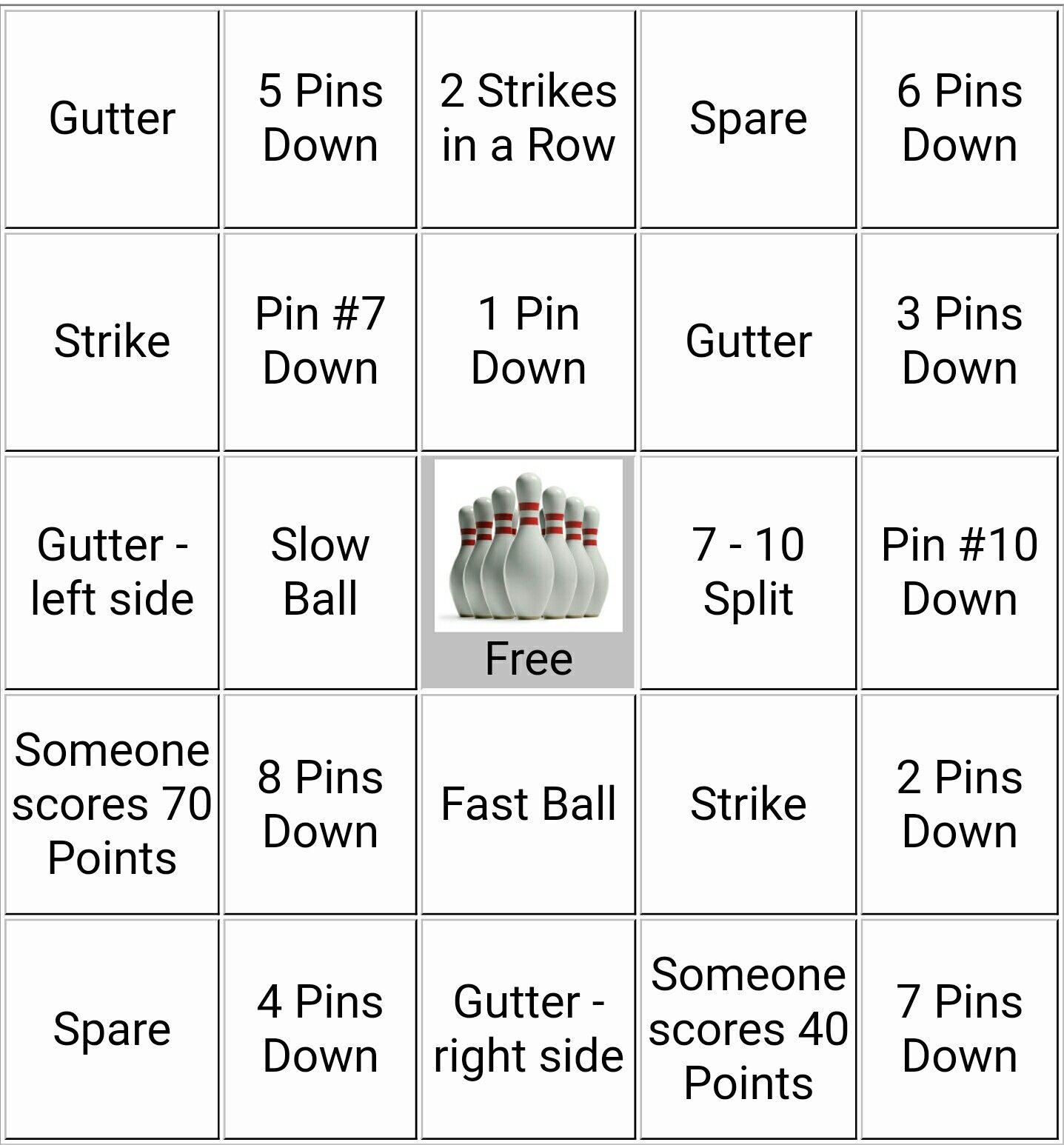 Bingo Bowling