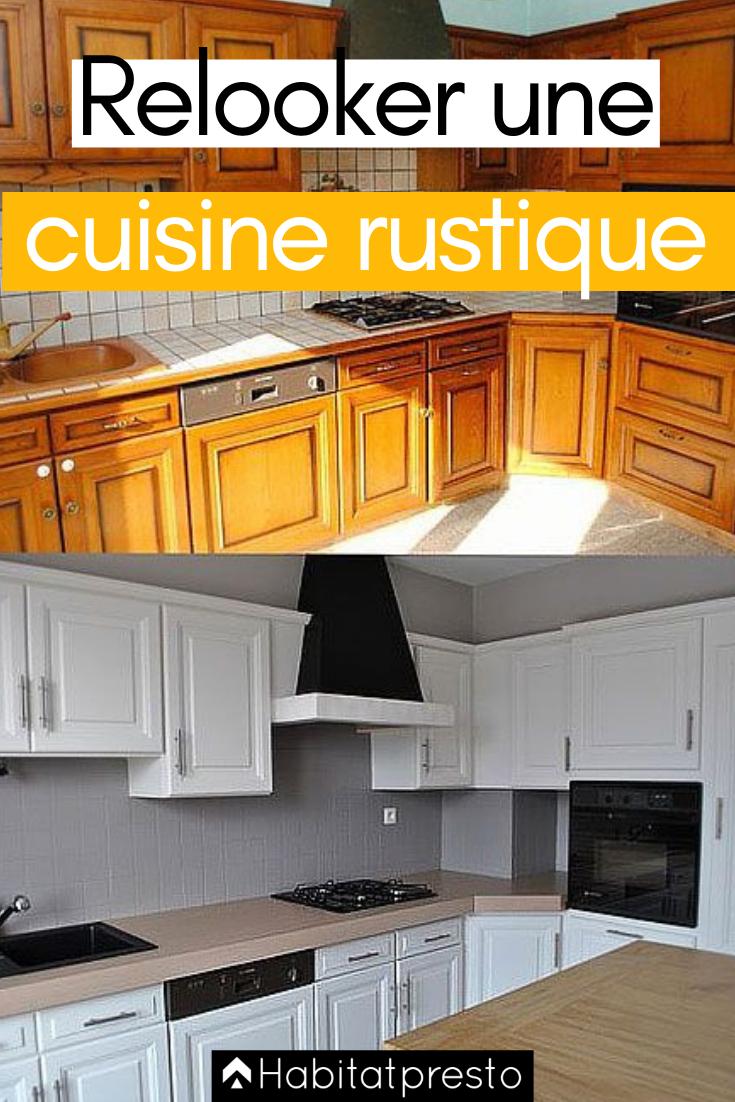 Relooker Une Cuisine Rustique 7 Astuces Pour La Moderniser Repeindre Meuble Cuisine Peinture Meuble Cuisine Relooker Cuisine