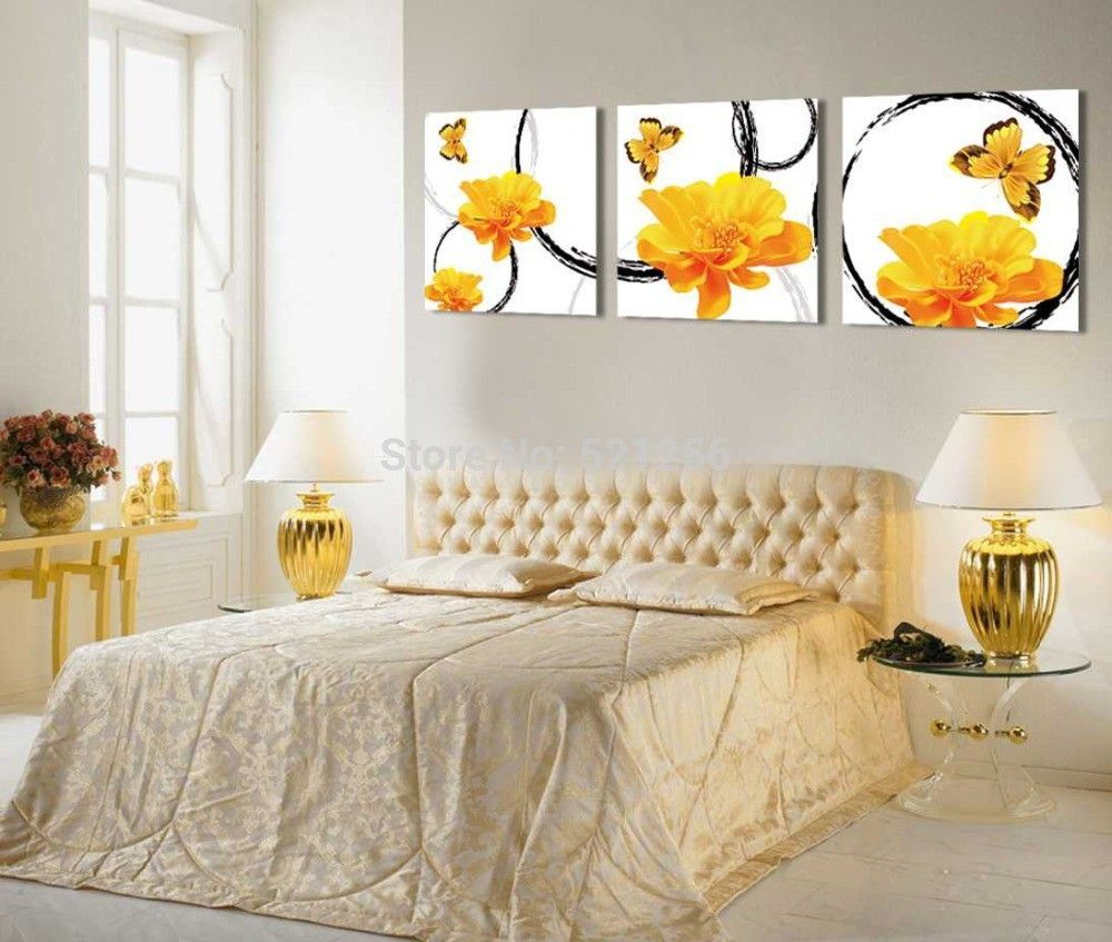 Modern wall art home decoration printed oil painting pictures canvas