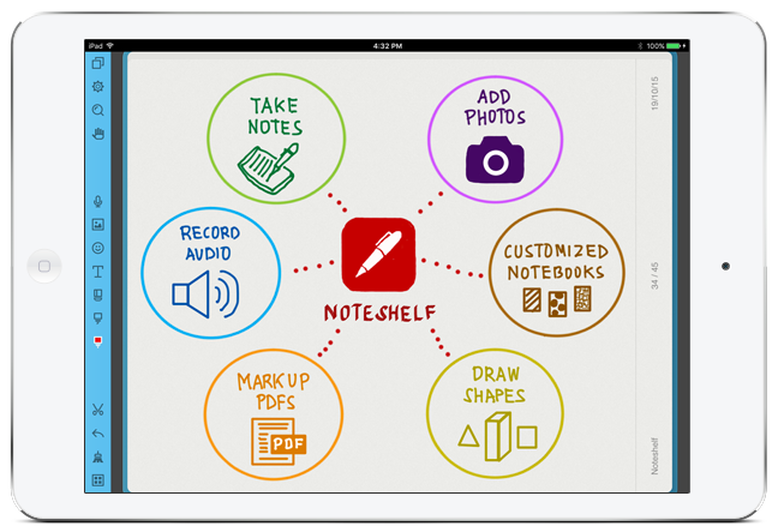 Noteshelf Best Note Taking App For Ipad Good Notes Notes App