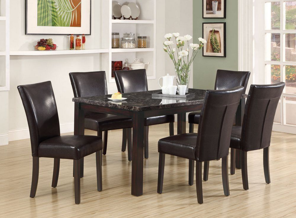 black dining room sets for cheap | 2017 black dining room furniture ideal for stylish dining ...