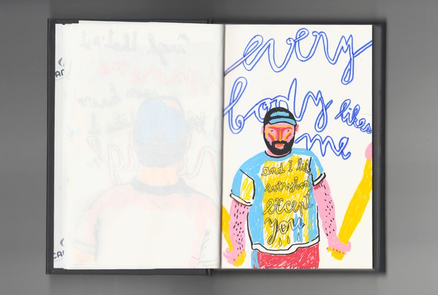 Alina Marinescu explores the inner dialogue that comes along with a secret crush through her sketchbook.
