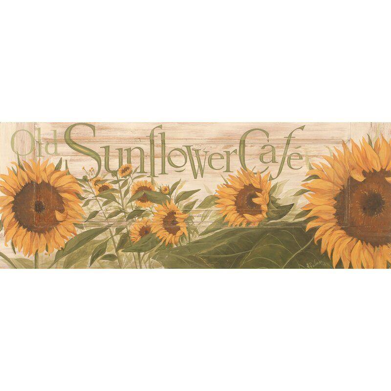 Sunflowers Wall Decor Sunflower Home Kitchen