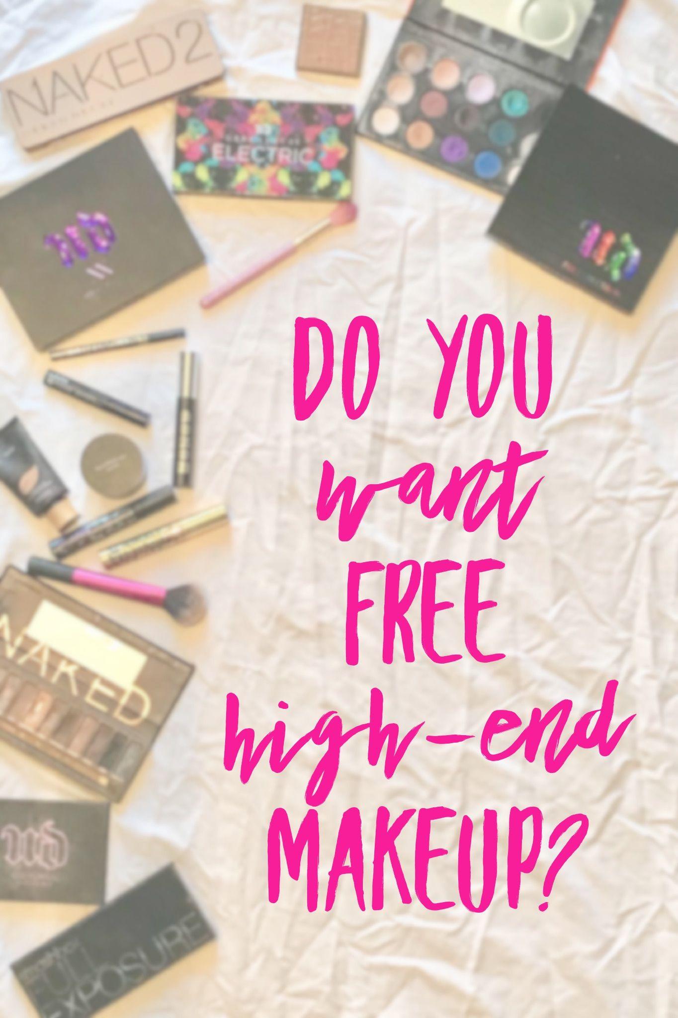 6 Legitimate Ways to Get Free HighEnd Makeup High end