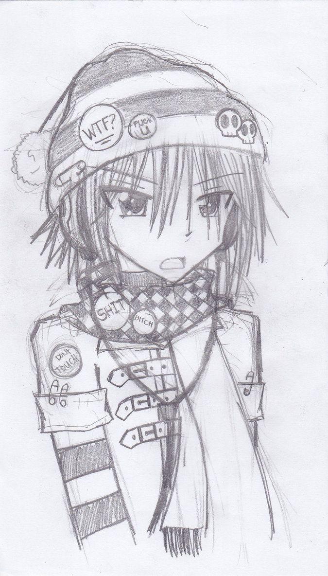 neko drawings Anime Drawings by NekoHibi Anime