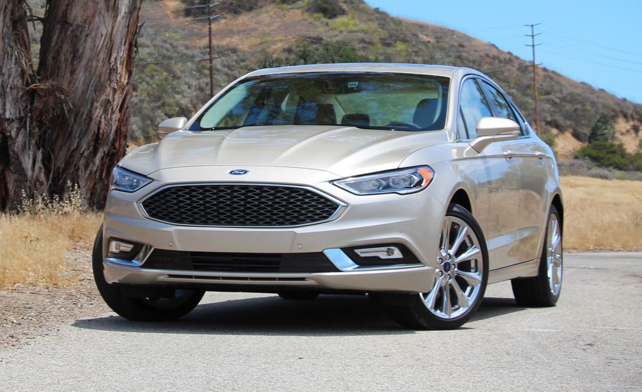 2017 Ford Fusion Platinum Ford Fusion Ford New Cars
