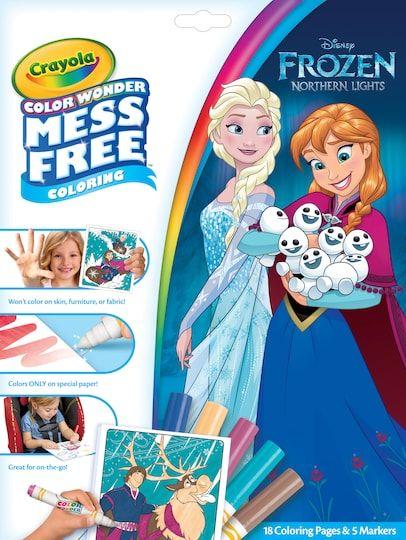 Crayola® Color Wonder™ Disney® Frozen Paper & Markers ...