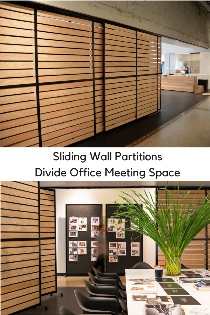 Office Dividers Sliding Wall Office Partitions To Divide Office Space  Design With Horizontal Wood Planks Could