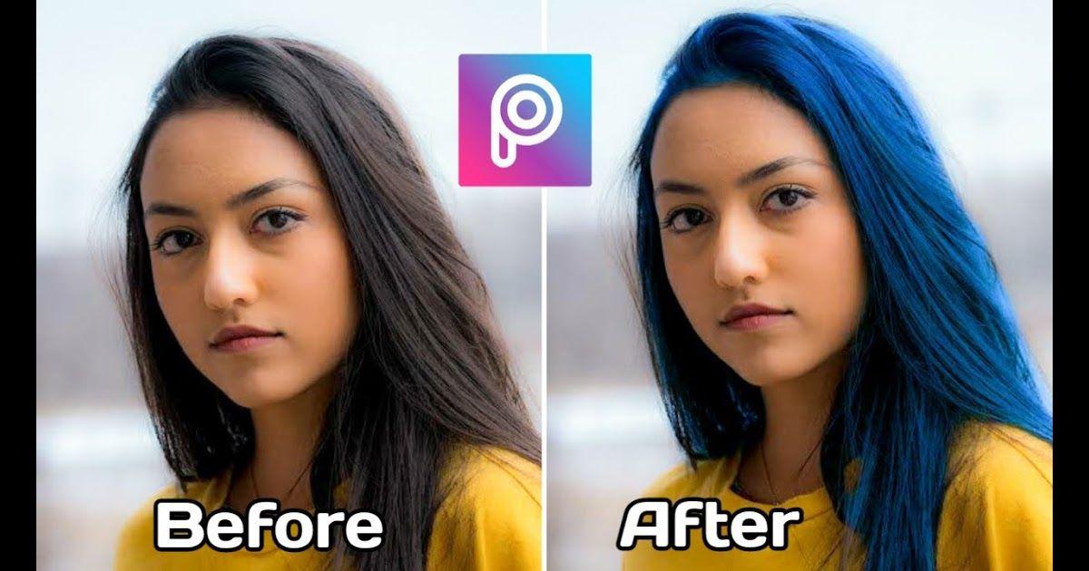 Aplikasi Edit Foto Yang Bisa Merubah Warna Rambut Cara Edit Foto Di Picsart Kekinian Merubah Warna Rambut Youtube Cara Warna Rambut Photoshop Pengeditan Foto