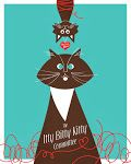Itty Bitty Kitty Committee Poster by Jay Bryant
