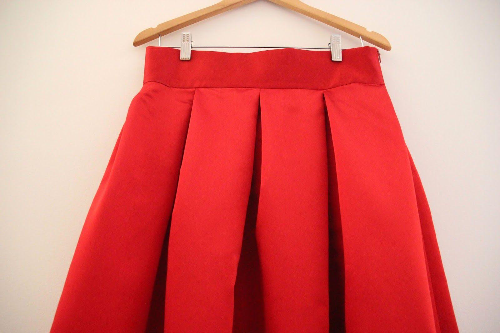 47f351dcb Resultado de imagen para falda de pliegues patron | angie | Patrones ...