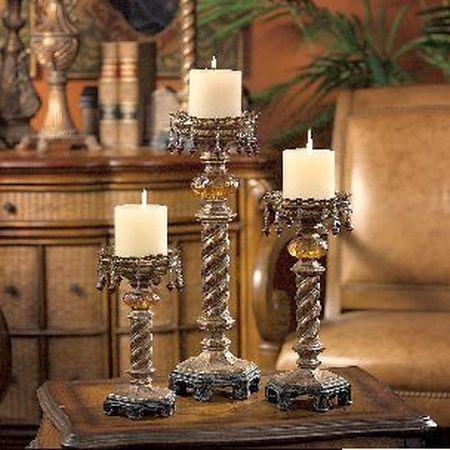 moroccan candlesticks set