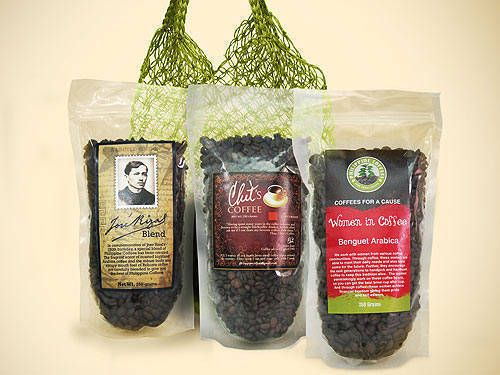 Filipino Coffee Bag Of Beans From Echostore Coffee Bag Coffee Filipino Recipes