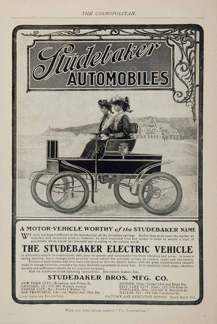 electric cars not so new