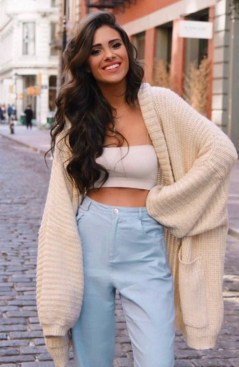 trendy outfits you need to wear this fall cardigan outfits