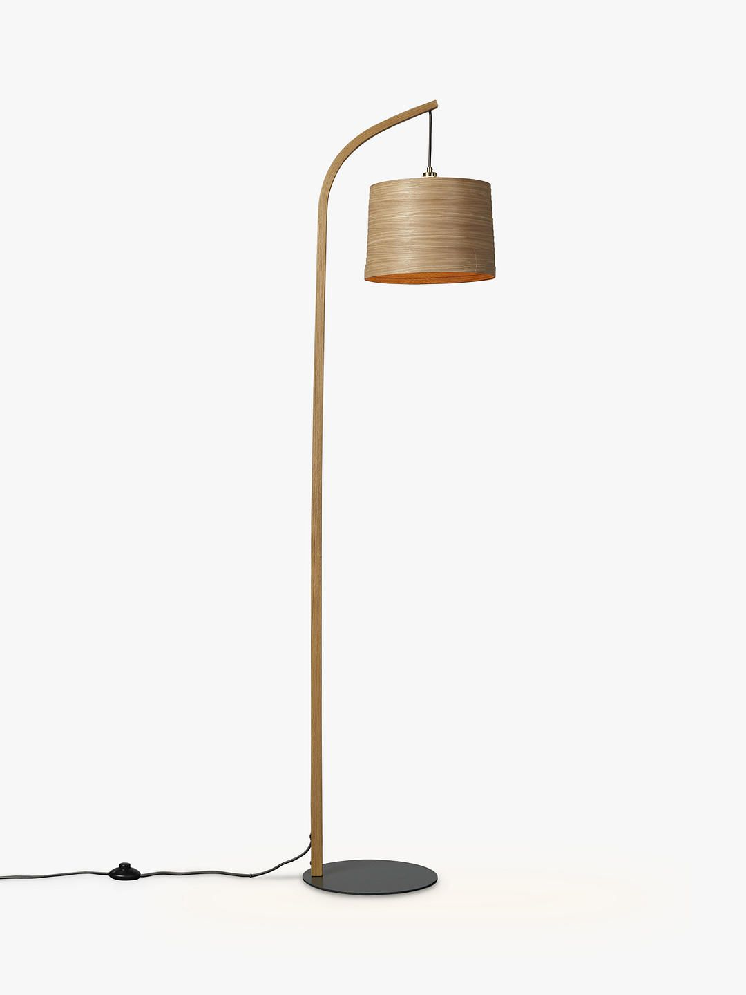 Tom Raffield Mullion Grey Base Floor Lamp Floor Lamp Tom Raffield Lamp