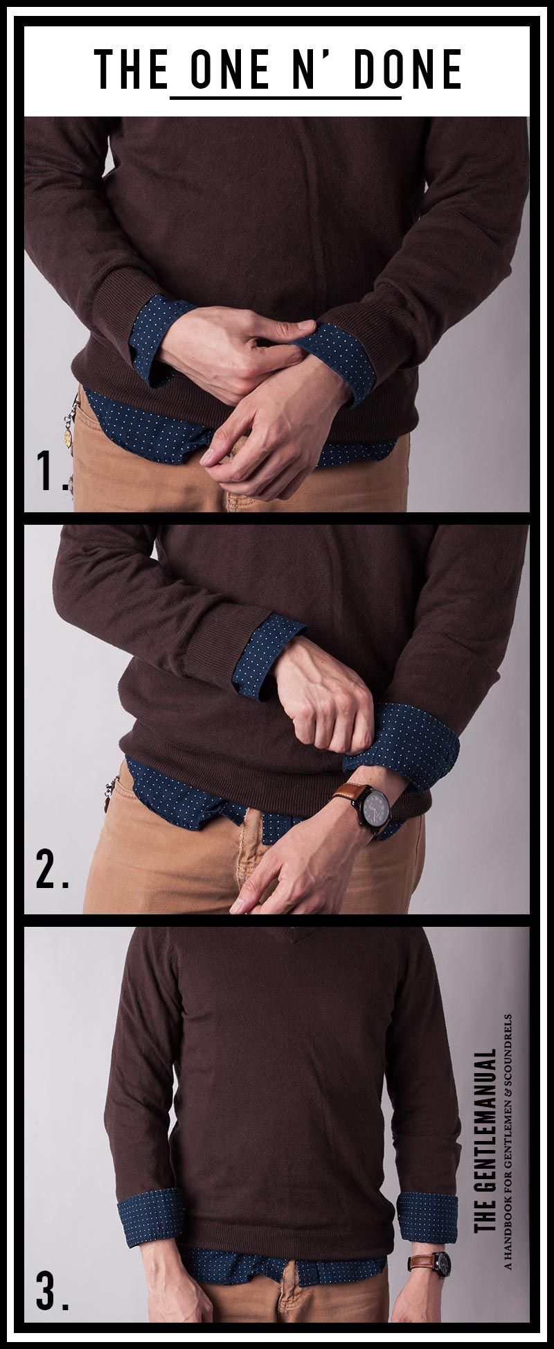 How to roll up your sleeves the right way how to roll