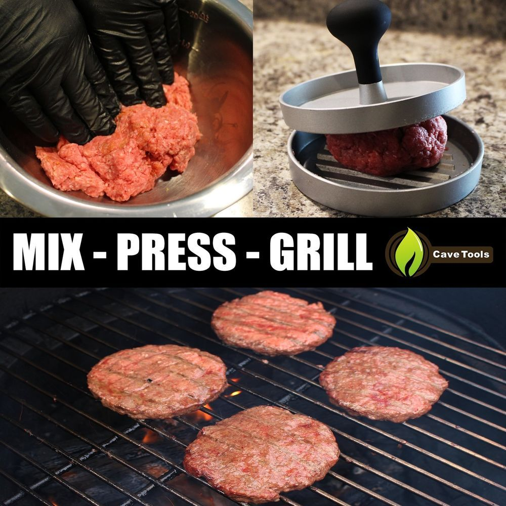 Best Non Stick Burger Press For Grill Storage Patty Maker ...