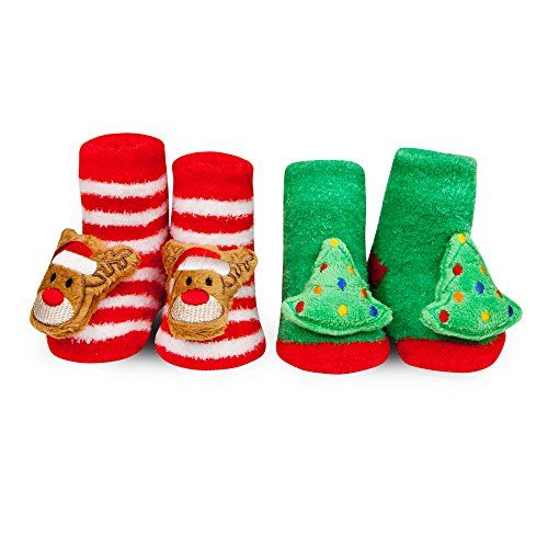 Waddle And Friends Baby Christmas Tree Reindeer Rattle So Https Www Amazon Com Dp B01m64katf Ref Cm Sw Rattle Socks Baby Shoes Newborn Baby Girl Christmas