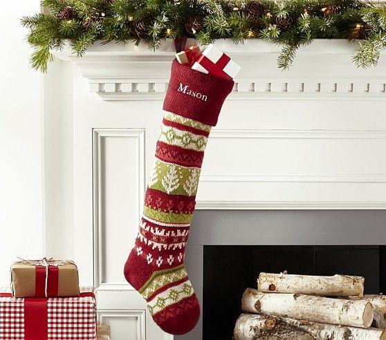 Classic Fair Isle Stocking Collection Xmas Stockings
