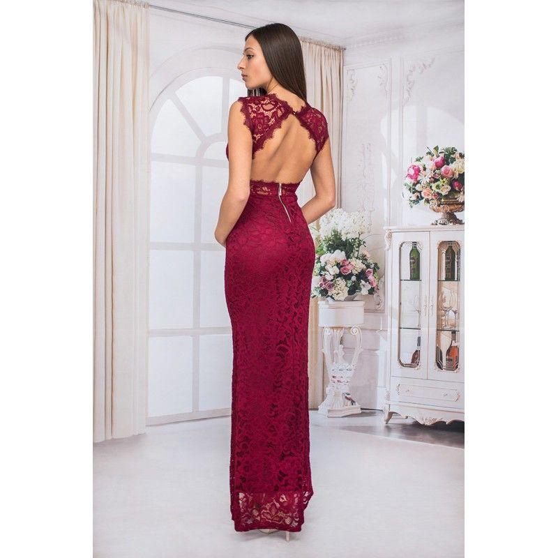f4cff0c4583 Абитуриентска рокля от дантела   Дамски рокли Julia   Formal dresses ...