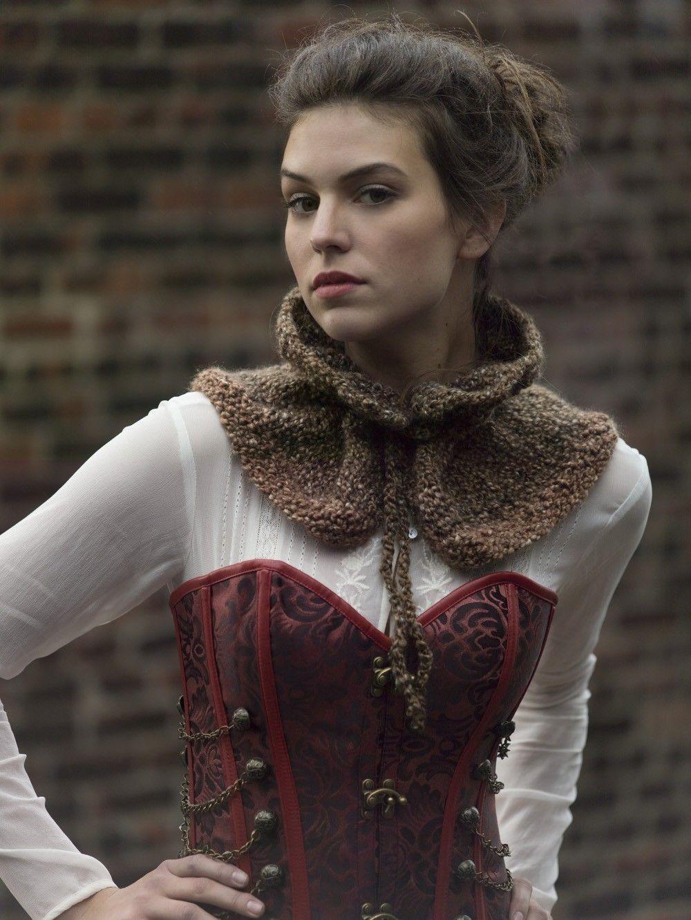 Misty Moors Capelet (Crochet) cowl free pattern | Crochet | Pinterest
