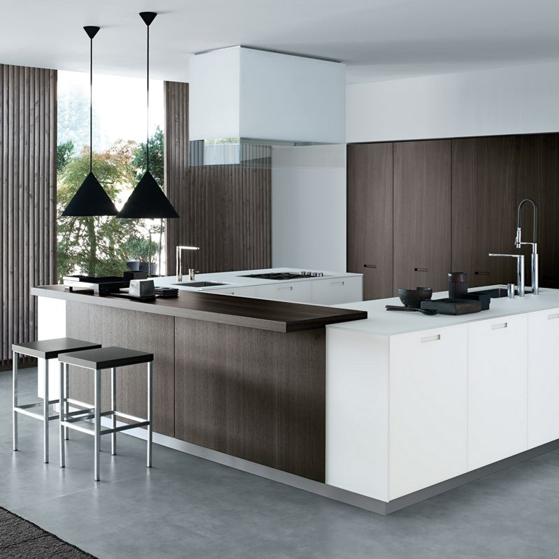 Modern Classics Kyton Kitchen Cabinetry From Varenna By Poliform. Available  Here: Https:/