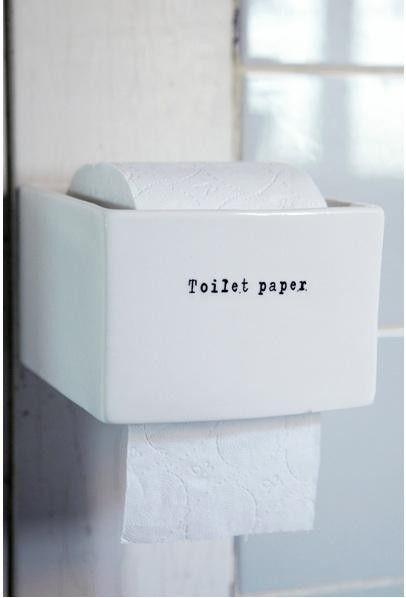 Bath Ceramic Accessories From Rockett St George Remodelista Toilet Paper Holder Toilet Toilet Paper