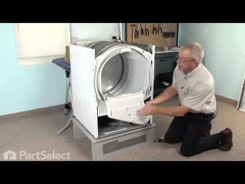 Dryer Repair Replacing The Dryer Drum Glide Whirlpool Part 37001298 Dryer Repair Whirlpool Dryer Dryer Belt