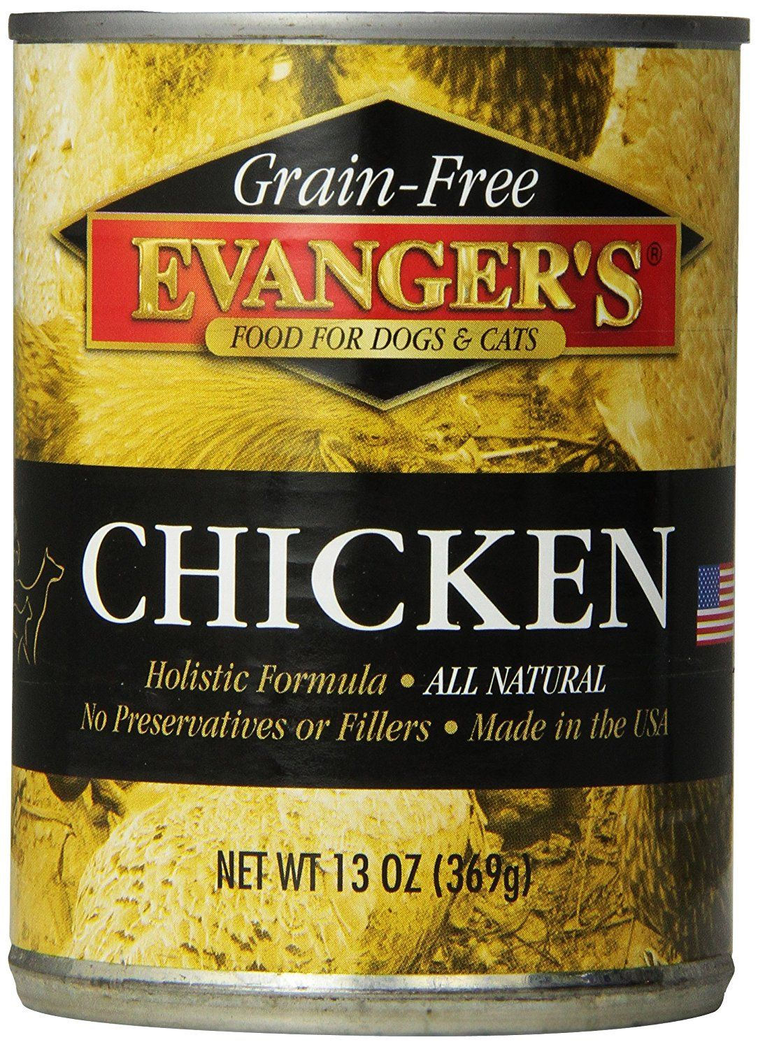 Evangers 12pack gold grain free cooked chicken for dogs