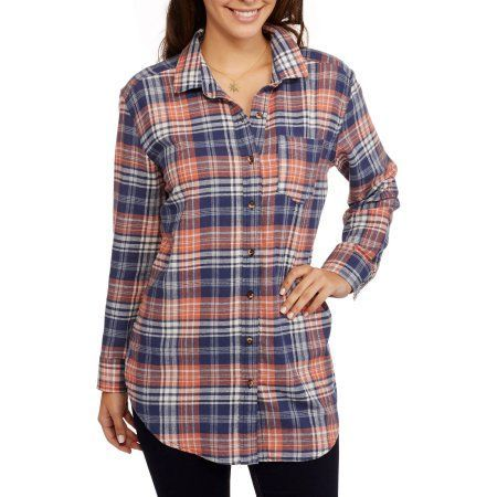 [ ! ] brooke leigh women's rolled sleeve front pocket flannel shirt  | The Story Of Brooke Leigh Women's Rolled Sleeve Front Pocket Flannel Shirt Has Just Gone Viral!