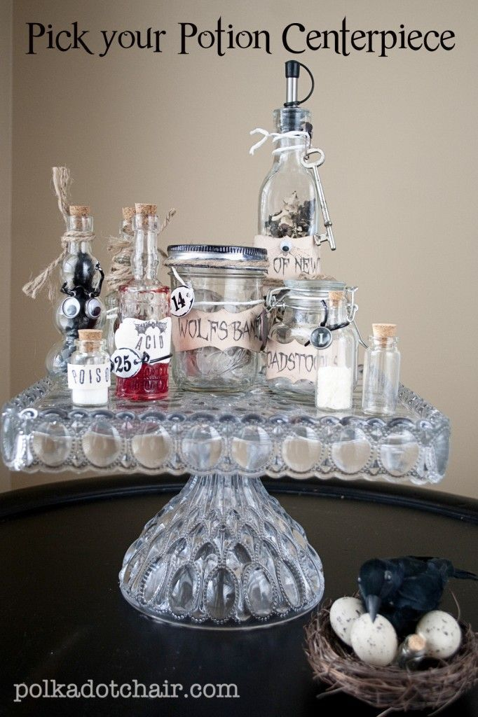 Best Diy Crafts Ideas For Your Home  Pick Your Potion DIY Halloween - halloween centerpiece