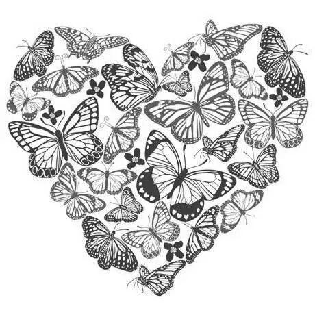 Shabby Craft Imprimer Illustration De Coeur