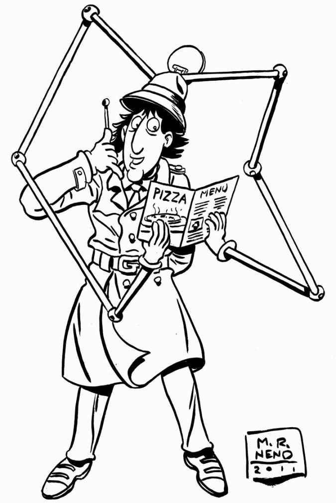 Inspector Gadget Coloring Pages Coloring Pages Inspector Gadget