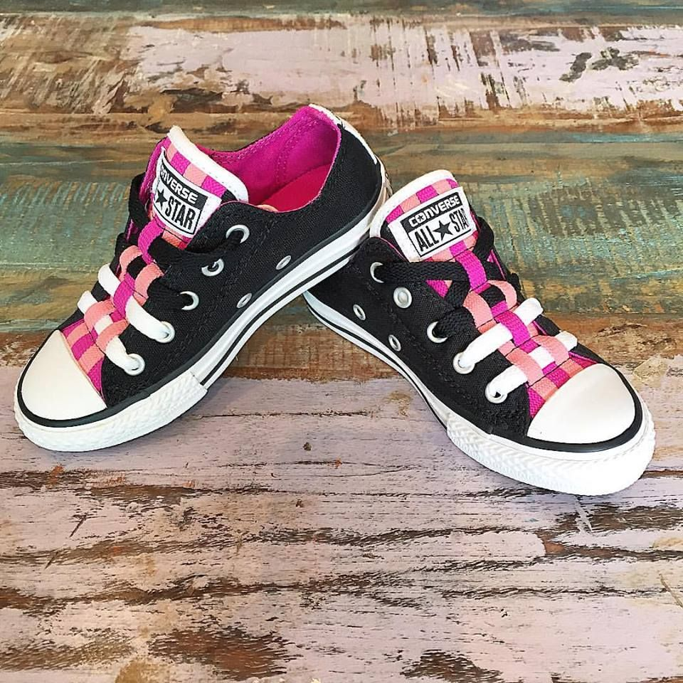 33ee1df2ee2 NEW •  Converse  Loopholes are in stock in junior sizes 11 to 3 ...