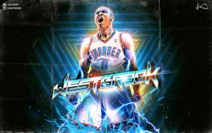 Russell Westbrook Retro Nba Wallpaper By Skythlee Westbrook Wallpapers Russell Westbrook Wallpaper Nba Wallpapers