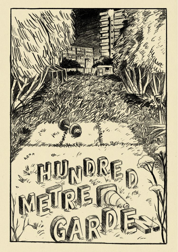 Elliot Baggott:Hundred Metre Garden www.hundredmetregarden.com #SPX #SmallPressExpo #SPX2014 #IndieComics #Comics #IndependentPress #MicroPress #BookArts #Art #Illustration #ElliotBaggott #HundredMetreGarden