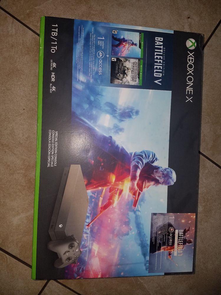 Xbox One X 1tb Special Edition Battlefield V Bundle New Xboxone