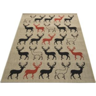 Stag Rug Natural 120cm X 170cm At Argos Co Uk Your