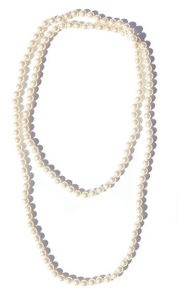 Champagne Pearl Necklace   $24   jewelboxonline.com