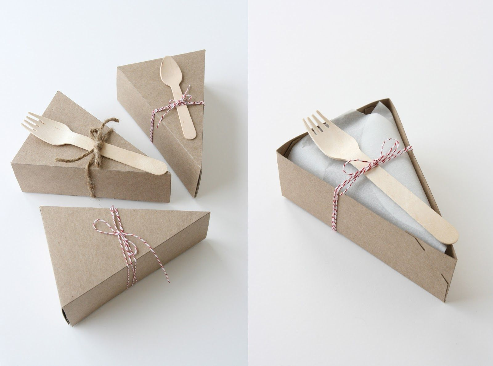 perfect for cheesecake slices ) Cake packaging