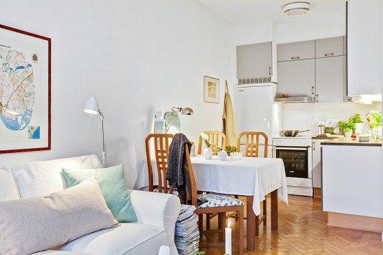 Un mini piso de 38 m² con mucho encanto Minis, Small apartments