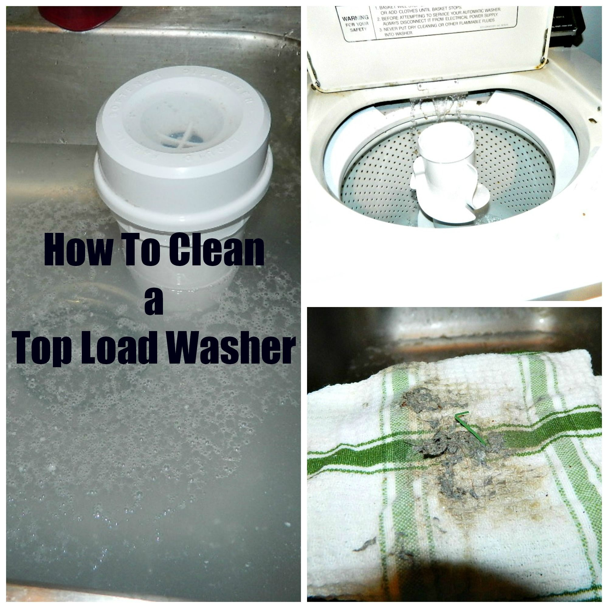 How To Clean A Top Load Washer Video You Are Supposed