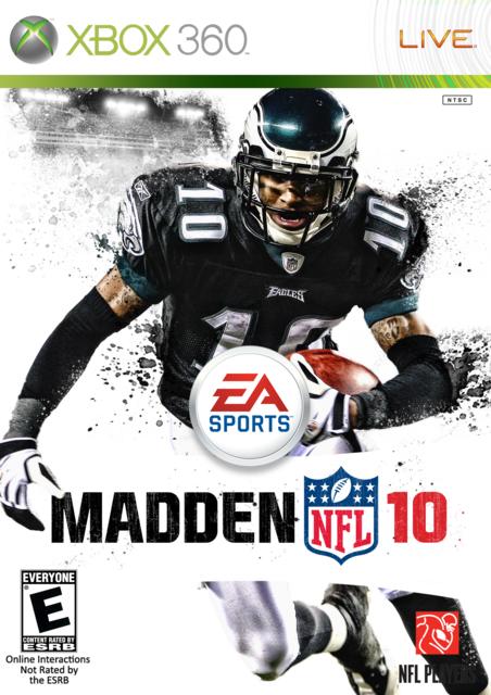 Desean Jackson Madden 10 Cover Desean Jackson Football