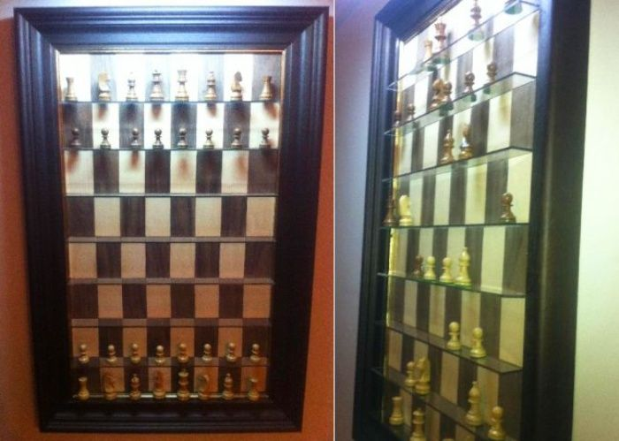 Checkmate Wall Mounted Chess Board