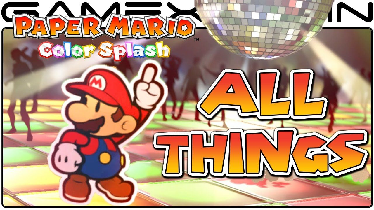 All Thing Card Animations In Paper Mario Color Splash Bowser S