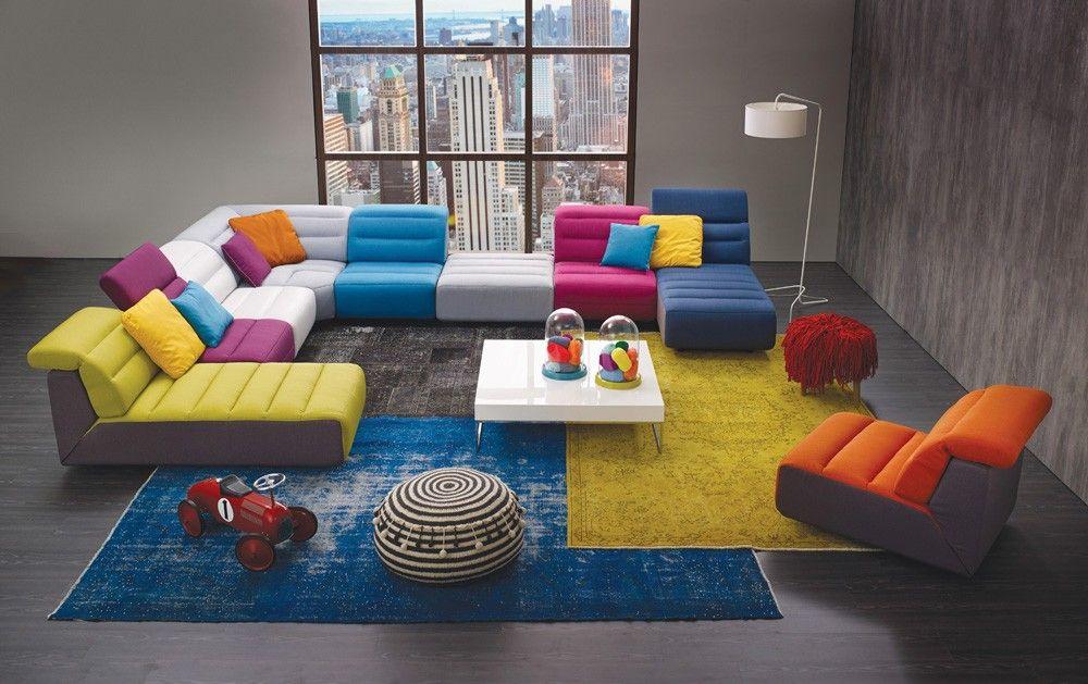 Htl International Mu B0059 8pce Mu B0059 Sectionnel 8 Morceaux Contemporain My Furniture Interior Deco Sofas