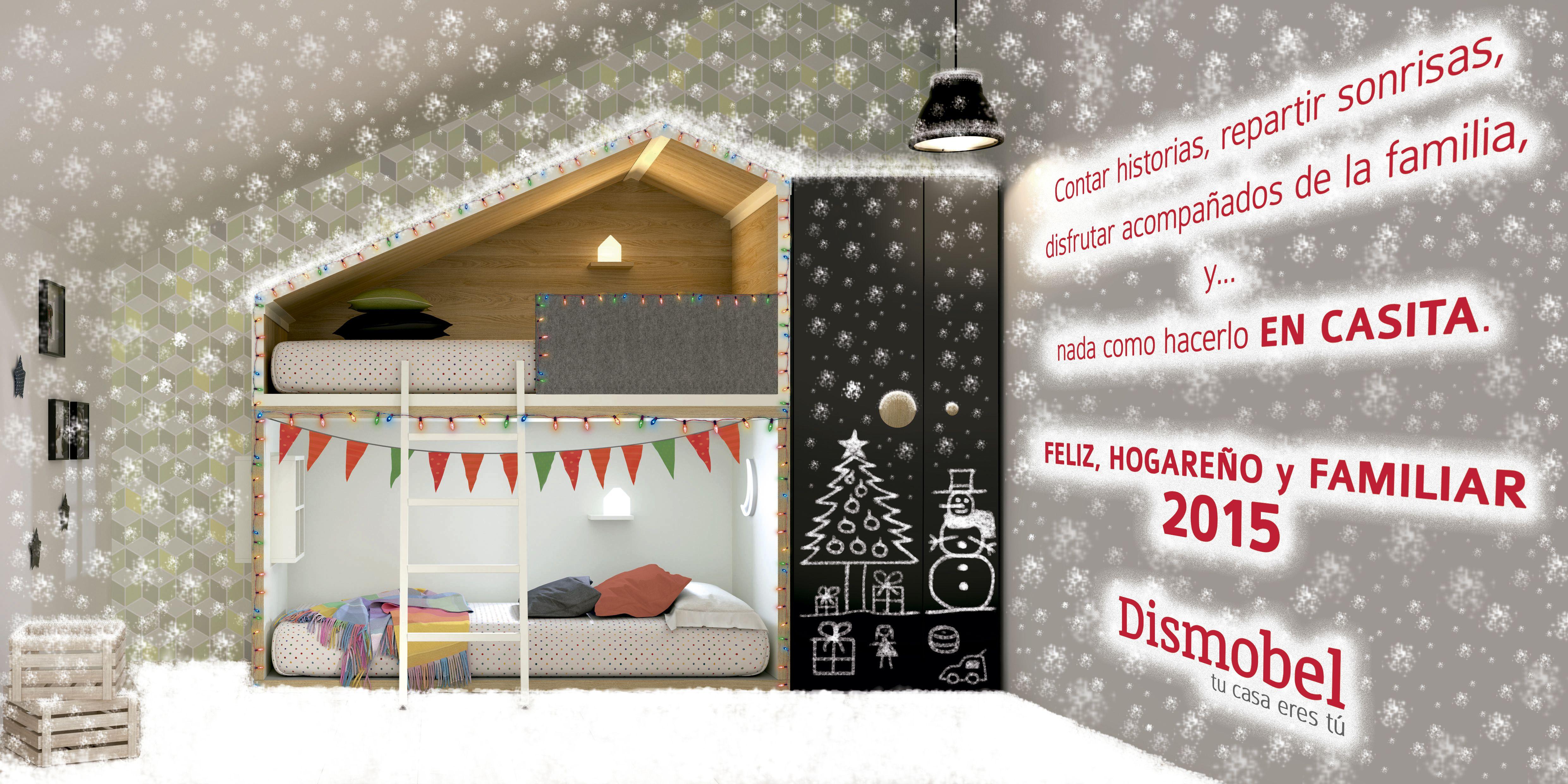 Todo el equipo que damos vida a Dismobel te deseamos unas felices fiestas, y un próspero año 2015 lleno de propósitos hechos realidad. Feliz Navidad..!!!