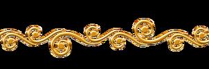 golden swirls border png by Melissa-tm | Line Art, Doodles ...